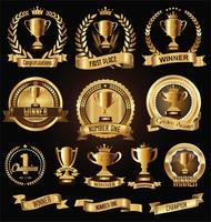 trofee badge vector