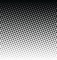 Abstract gestippeld vector halftone effect als achtergrond