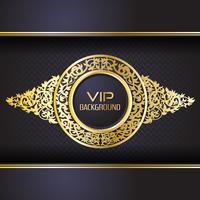 Gouden achtergrond ontwerpsjabloon van de achtergrond flyer stijl vector