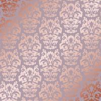 Elegante roze gouden patroonachtergrond vector