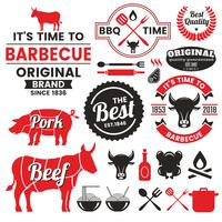 Restaurant Retro Vector Logo voor banner