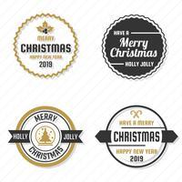 Kerst Vector Logo voor banner
