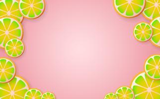 limonade Vector achtergrond