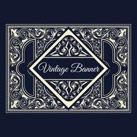 Vintage achtergrond ontwerpsjabloon stijlontwerp vector