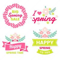 lente retro vintage vector label