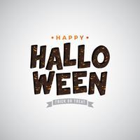 Happy Halloween illustratie