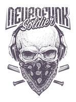 Neurofunk-soldaat vector