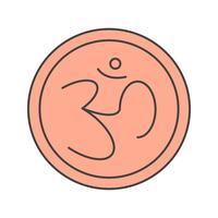 vector teken hindoe pictogram