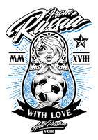 Van Rusland met liefde vector