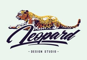Leopard Vector Design