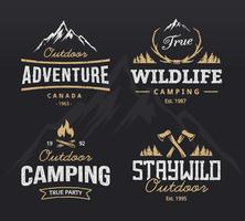 Outdoor Retro Emblemen