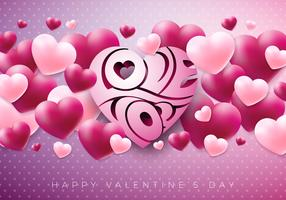 Happy Valentijnsdag ontwerp