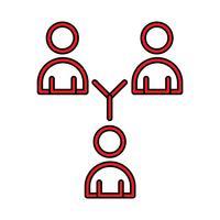 Link Perfect Icon Vector Of Pigtogram Illustratie In Gevulde Stijl