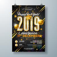2019 Nieuwjaarsviering Poster