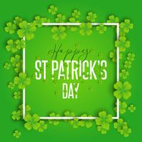 Happy St Patrick's Day achtergrond vector