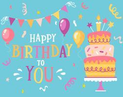 Ik wens je een gelukkige verjaardag.