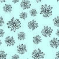 Daisy naadloos patroon vector
