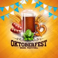 Oktoberfest Banner Illustratie vector