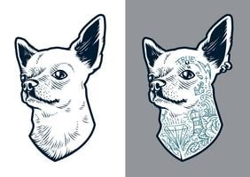 Chihuahua Vector Dog