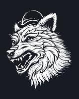 oude school wolf
