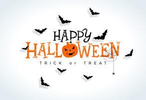 Happy Halloween illustratie vector