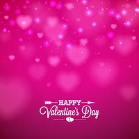 Happy Valentijnsdag achtergrond vector