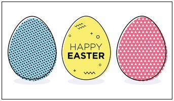 Paas eieren.