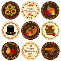 Thanksgiving pictogrammen
