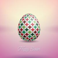 Illustratie van de gelukkige vakantie van Pasen vector
