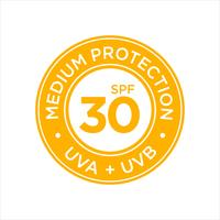 UV-, zonwering, medium SPF 30 vector
