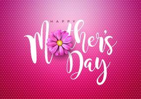 Happy Mothers Day illustratie vector
