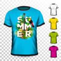 Ontwerp met zomervakantie T-shirt