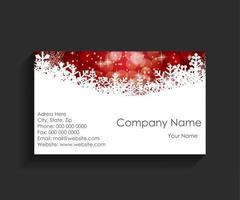 bedrijf visitekaartje op zwarte achtergrond. vector