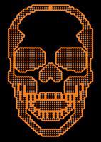vintage ontwerp t-shirts schedel vector