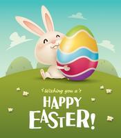Ik wens je een vrolijk Pasen