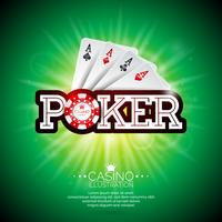 Poker Casino Illustratie