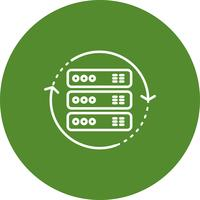 Vector draaien pictogram