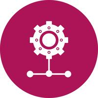 vector instelling pictogram