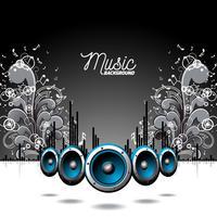 Muzikale thema illustratie