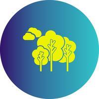 vector bomen pictogram