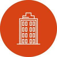 Vector gebouwen pictogram