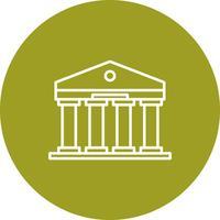 Vector bankpictogram