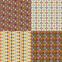primitieve geometrische patronen