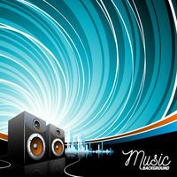 Muzikale thema illustratie vector