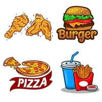 fastfood vector compilatie