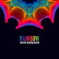 Rainbow Lines achtergrond vector