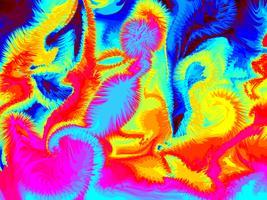 Kleurrijke kunst abstracte achtergrond
