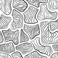 Abstract naadloos patroon, tegelpatroon zoals gestreepte streep.