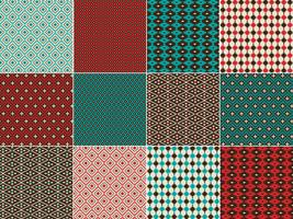 Inheemse Amerikaanse geïnspireerde geometrische patronen vector