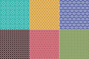 Marokkaanse patronen vector